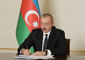 """Prezident """"Vətən Müharibəsi Qəhrəmanı"""" adının təsis edilməsi haqqında qanunu imzaladı"""