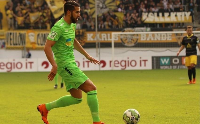 Azərbaycan millisində çıxış etmiş futbolçu Almaniya klubu ilə yollarını ayırıb