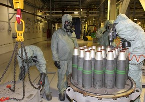 В Пентагоне заявили, что уничтожили примерно 300 тыс. снарядов с ипритом