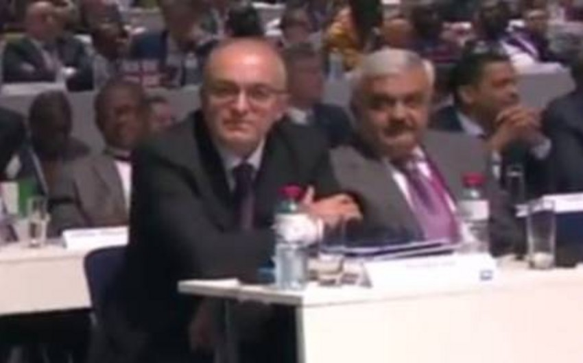 AFFA prezidenti Rövnəq Abdullayev FİFA prezidenti seçkisində səs verib