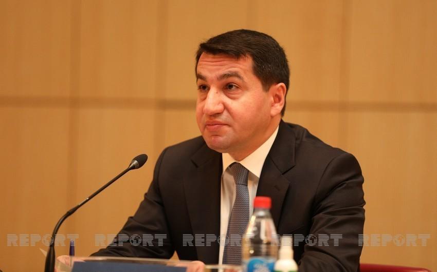 """Hikmet Hajiyev: """"Social media magnifies fake news"""""""