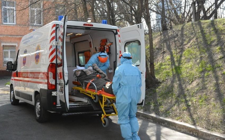 Ukraynada koronavirusdan sağalanların sayı 8 minə çatır