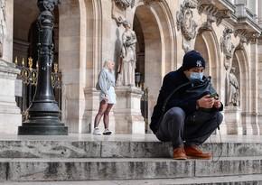Fransada virusa rekord yoluxma qeydə alındı