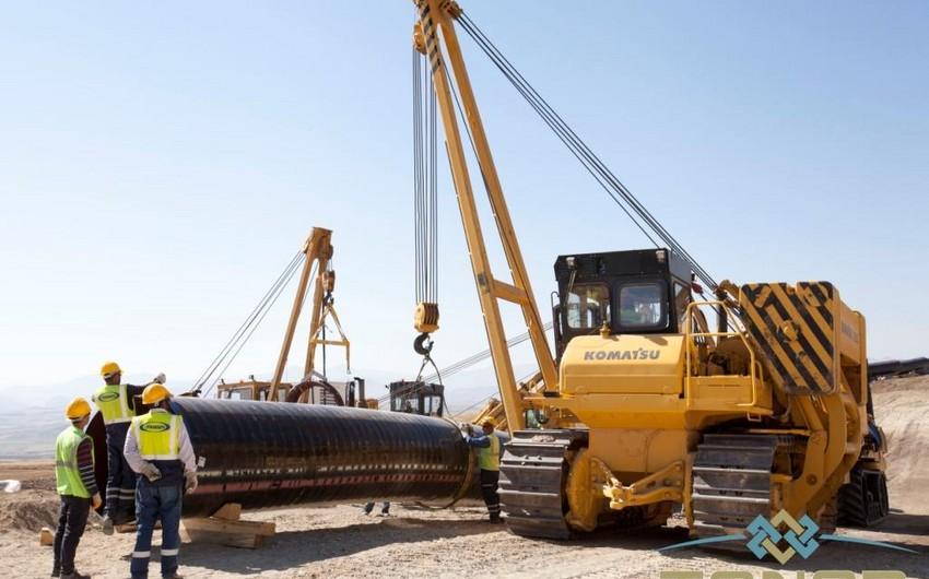 TANAP kəmərinin inşası üçün daha 1,5 mln. kv. metr torpaq sahəsi alınıb