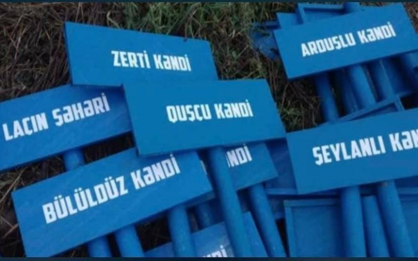 Laçın rayonunun  -