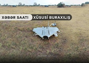 """""""Xəbər Saatı"""": Ermənistanın kamikadze dronu məhv edildi"""