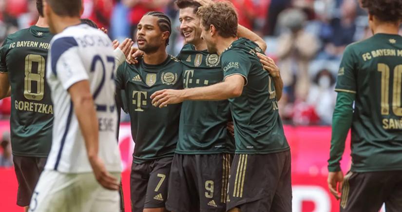 Бундеслига: Бавариязабила семь безответных голов