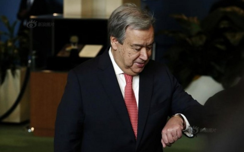 UN chief holds first meeting with Donald Trump