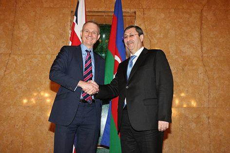 British minister: The UK and Azerbaijan have a strong bilateral relationship