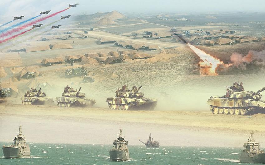 Azərbaycan ordusu 23 min hərbçinin iştirakı ilə genişmiqyaslı təlimlərə başlayıb - YENİLƏNİB - VİDEO