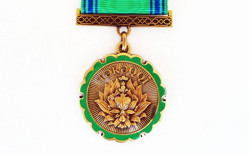 """Məcid Çaybasarski """"Tərəqqi"""" medalı ilə təltif olunub"""