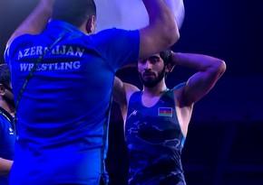 Азербайджанский борец вышел в четвертьфинал Кубка мира
