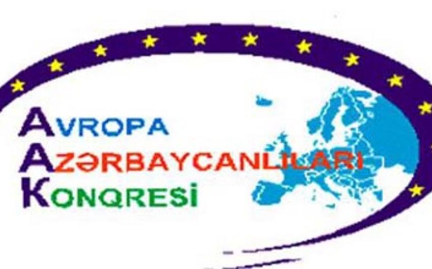 Avropa Azərbaycanlıları Konqresi Avropa Parlamentinə müraciət edib