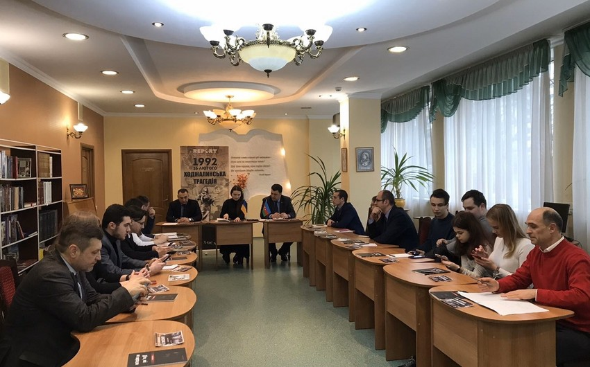 Kyiv hosts event on realities of Khojaly tragedy