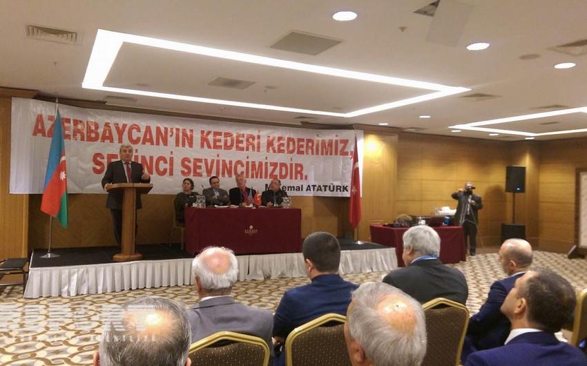 Türkiyə-Azərbaycan Dərnəkləri Federasiyasının 4-cü qurultayı keçirilib - FOTO