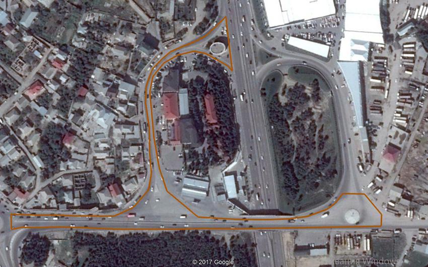 Sulutəpə dairəsindən Biləcəri qəsəbəsi istiqamətində  olan yol təmir edilir