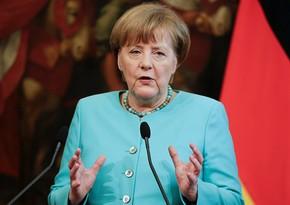 Angela Merkelin Türkiyəyə səfəri başlayıb