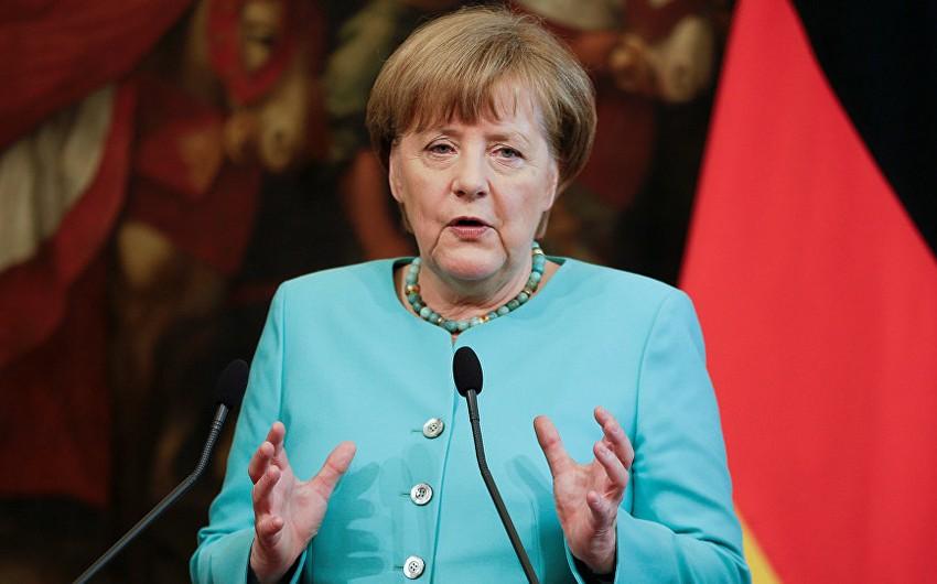 Angela Merkel: Almaniya Dağlıq Qarabağ münaqişəsinə göz yuma bilməz