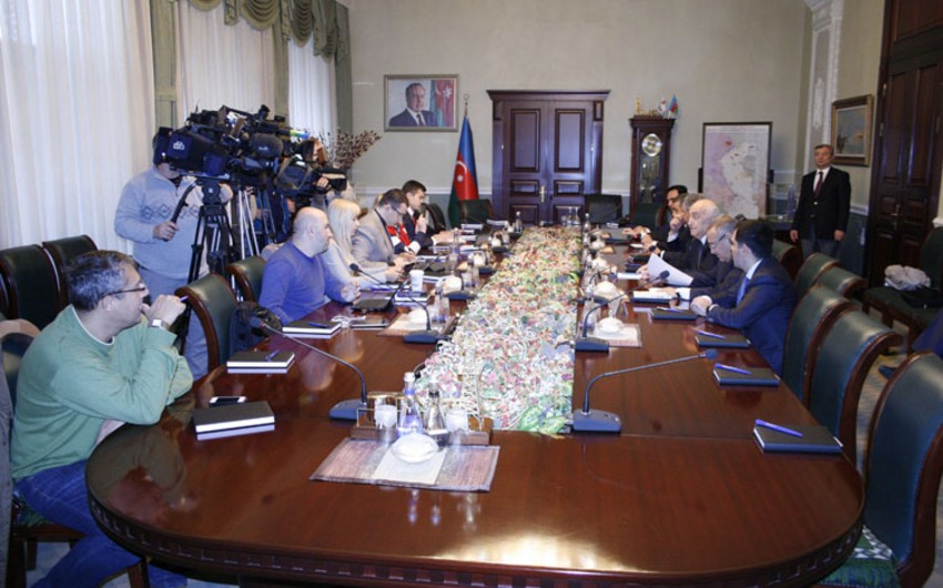 SOCAR-da Rusiyanın aparıcı KİV nümayəndələri ilə görüş keçirilib