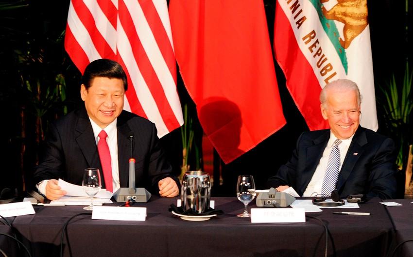 Bayden: Çin hərbi sahədə dünya hökmranlığına can atır