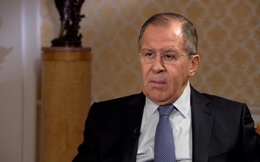 Lavrov Suriyada müharibənin başa çatdığını deyib