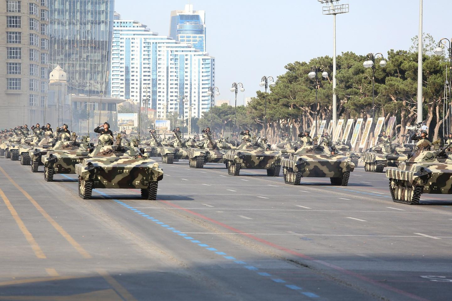 Today Azerbaijan celebrates the Day of Armed Forces