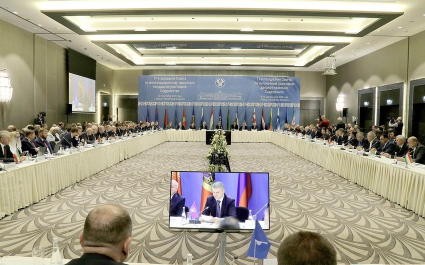 В Минске проходит 71-e заседание Совета по железнодорожному транспорту стран СНГ и Балтии