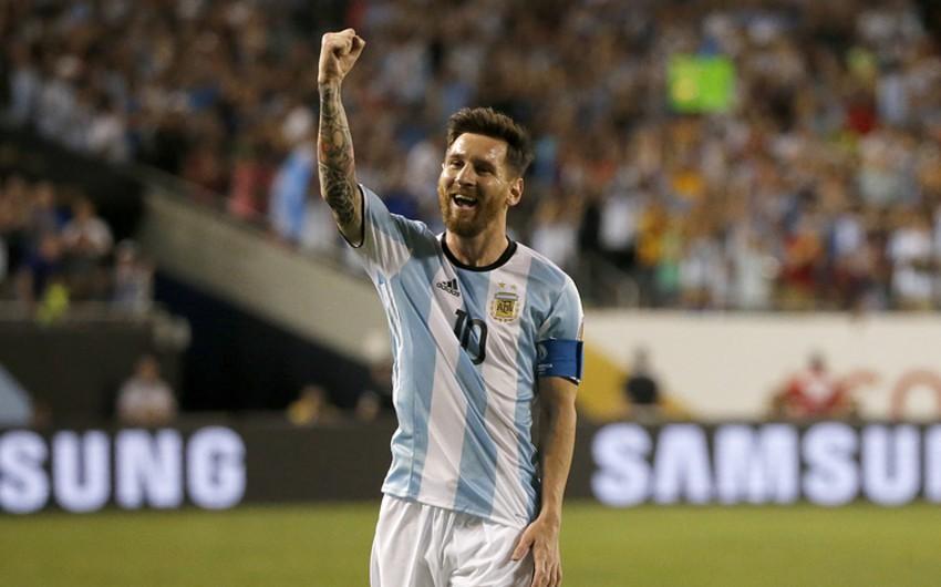 Lionel Messi Argentina yığmasının ən yaxşı bombardiri olub - VİDEO