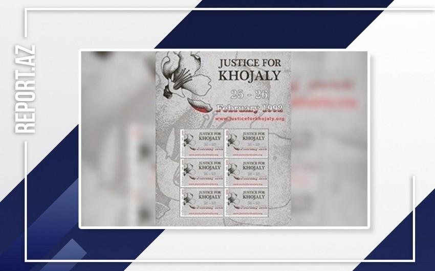 İndoneziyada Xocalı soyqırımını əks etdirən poçt markası buraxıldı