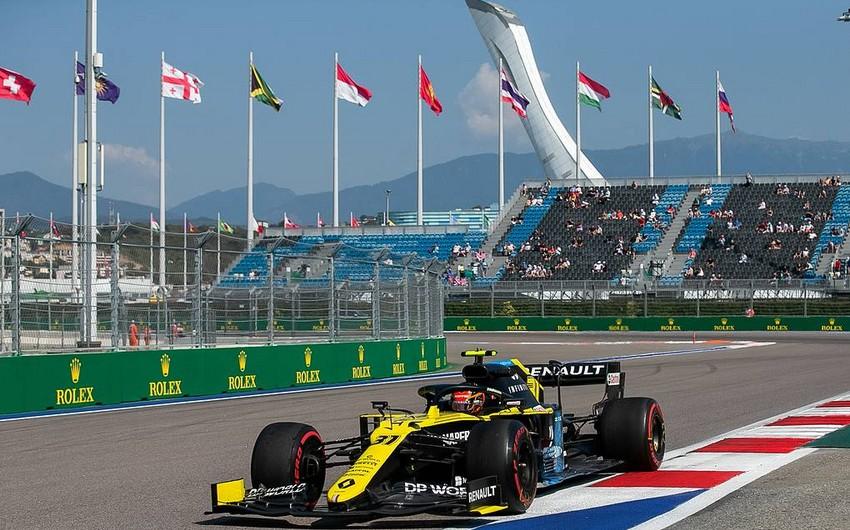 Formula 1 Rusiya Qran-prisinin yerini dəyişdi
