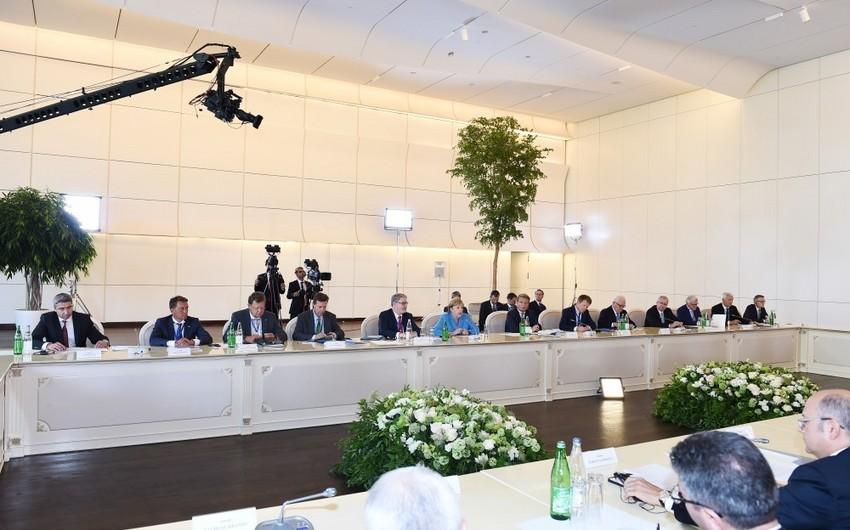 """Merkel: """"Azərbaycan Avropanın enerji təminatının şaxələndirilməsində Avropa İttifaqı üçün mühüm bir ölkədir"""""""