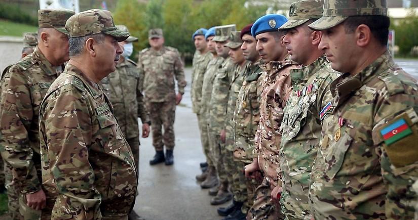 Azərbaycan Ordusunun yeni yaradılan komando hərbi hissəsi istifadəyə verilib