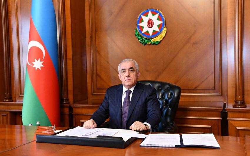 Премьер-министр Азербайджана предоставляет отчет в Милли Меджлисе