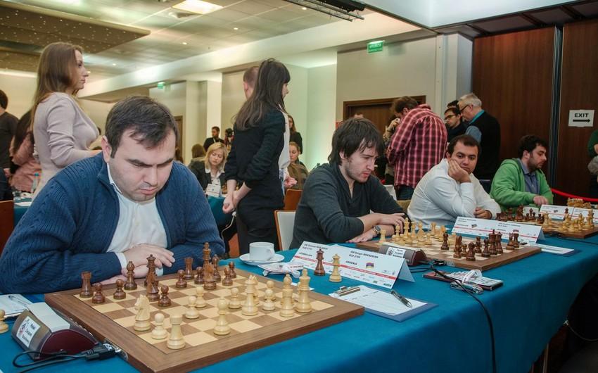 Azərbaycan şahmatçıları Avropa çempionatında Rusiyanı məğlub edərək birinci pilləyə yüksəliblər