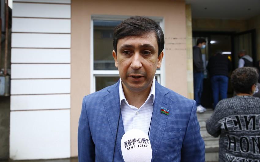 Azərbaycanlı deputat Gürcüstandakı seçkilərin gedişini dəyərləndirib