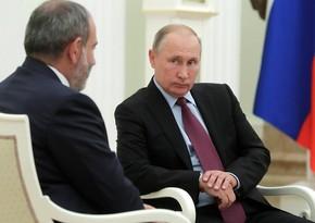 Paşinyan yenə kömək üçün Putinə yalvarır