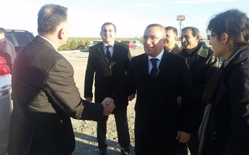 Посол Израиля посетил Товузский и Шамкирский районы