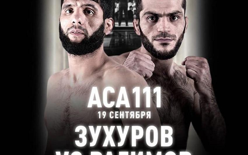 Azərbaycanın MMA döyüşçüsü rəqibinə nokautla qalib gəldi