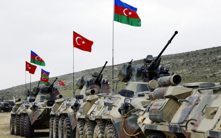 Azerbaijani and Turkish Armed Forces' joint tactical exercises with live-fire training hold in Kars