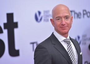 Bezos Amazonun səhmlərini 10,2 milyard dollara satdı