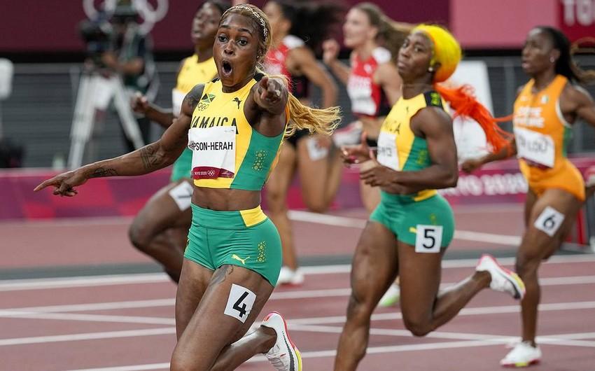 Tokio-2020: Yamaykalı atlet olimpiya rekordunu yeniləyib