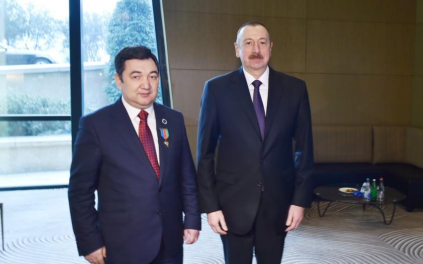 Darxan KıdırəliPrezident İlham Əliyevi təbrik edib