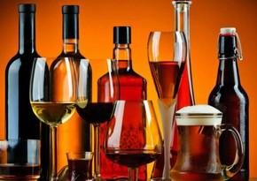 Azərbaycan içki idxalına çəkdiyi xərci 21% artırıb