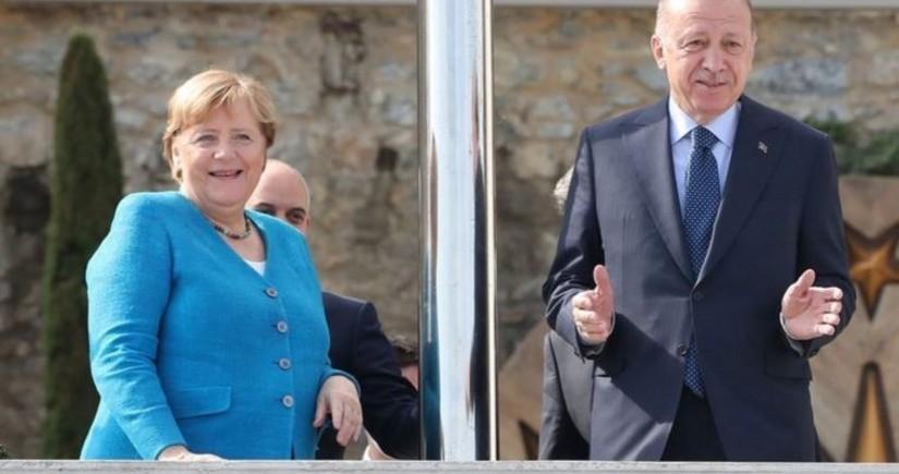 Erdogan, Merkel meet in Istanbul