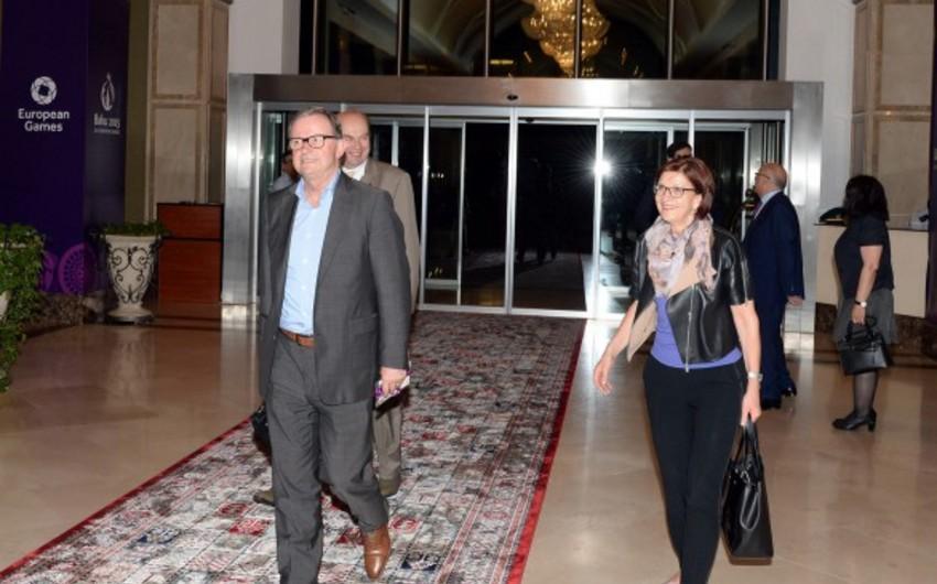 Avstriya parlamentinin vitse-spikeri Bakıya gəlib