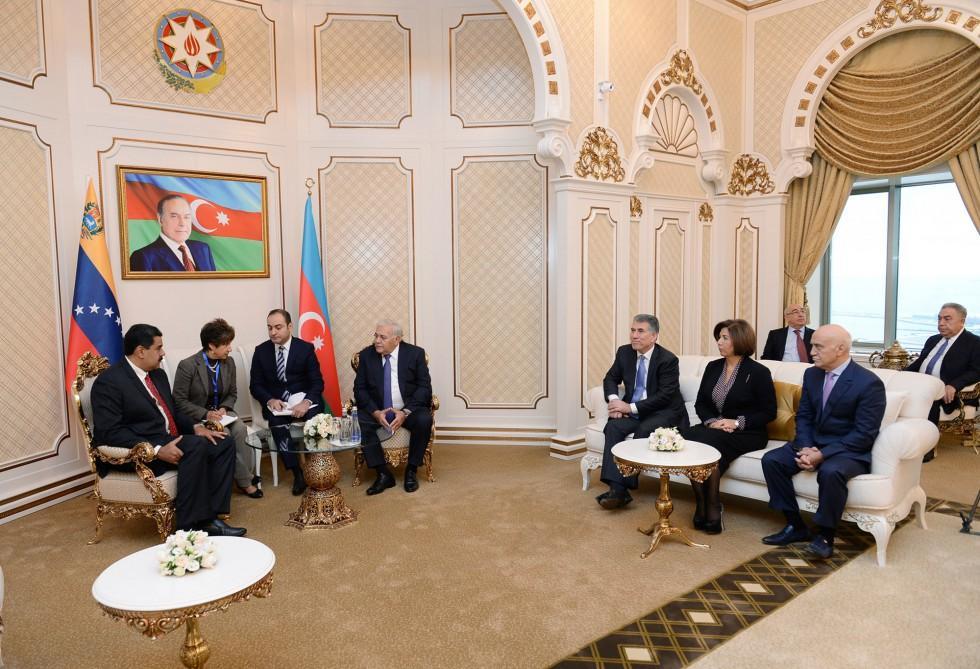Президент Венесуэлы посетил Милли Меджлис