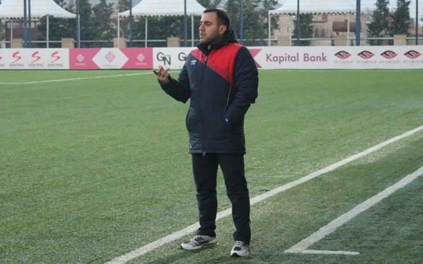 """Ayxan Abbasov: Qarabağ""""dan xal almağa çalışdıq, ancaq bacara bilmədik"""