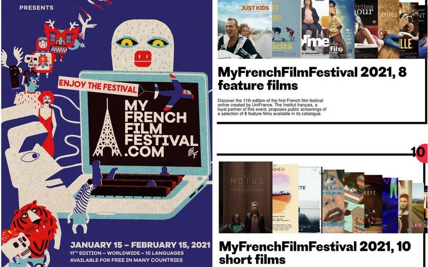 Bakıda Fransa filmləri festivalı keçirilir