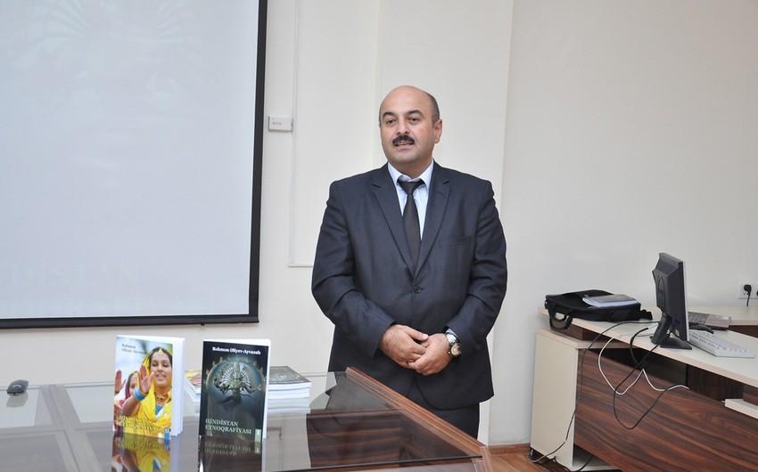 """ADU-da """"Hindistan etnoqrafiyası"""" kitabının təqdimatı keçirilib"""