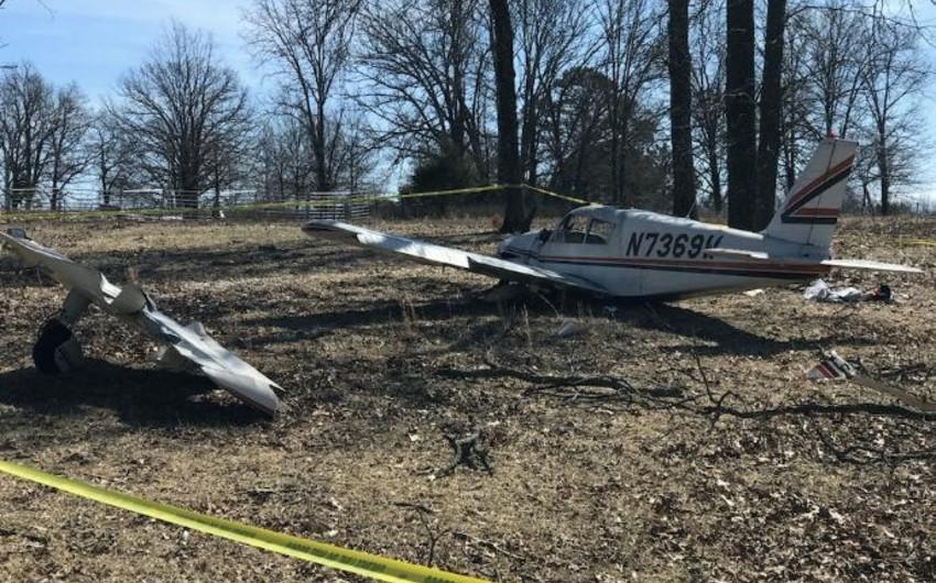 Один человек погиб в результате крушения самолёта в США